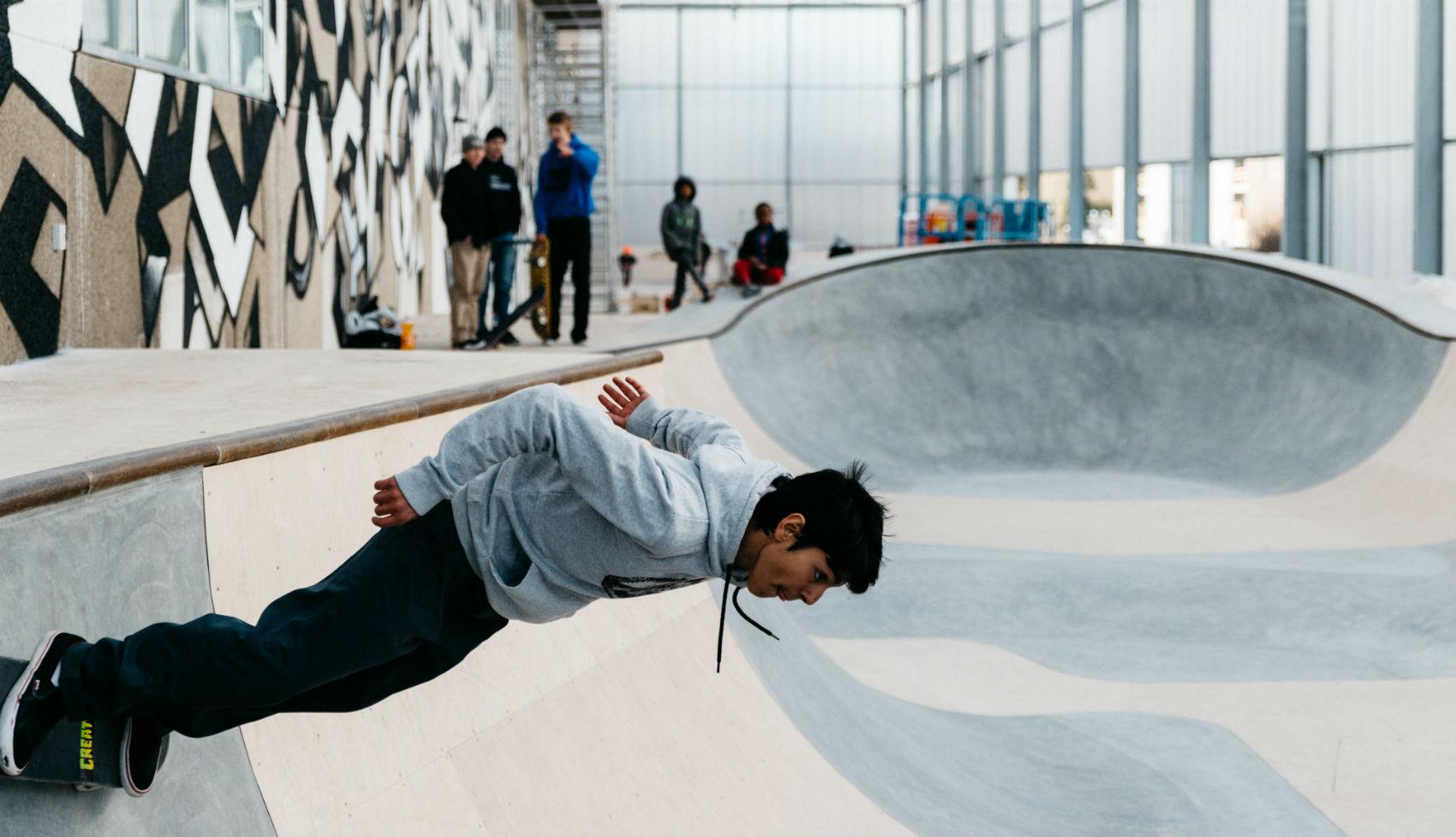 Game Streetmekka Viborg Rehabilitación Arquitectura Urbana