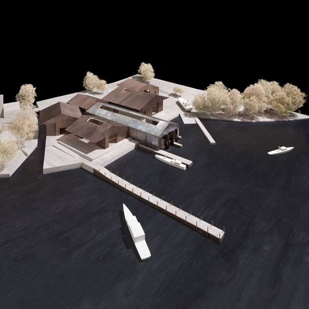 Windermere Jetty Museum proyectado por Carmody Groarke para Lakeland Arts