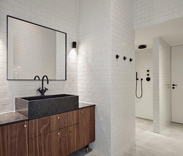 Baño apartamento 2. Proyecto Home Sint Willibrordusstraat.