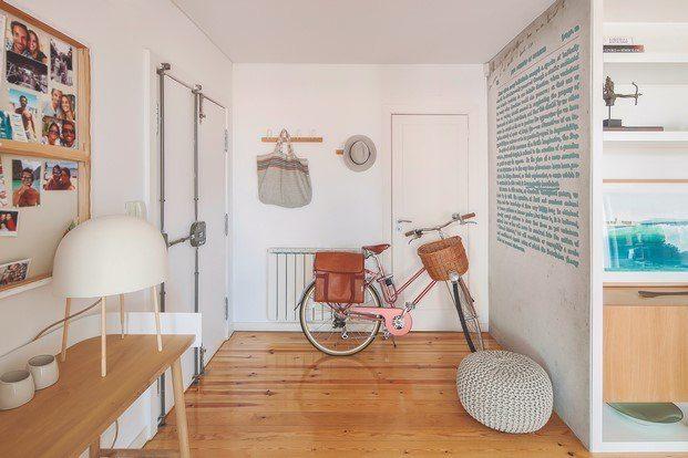 piso de estilo nordico en Lisboa