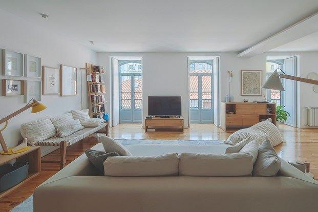casa de estilo nórdico vistas lisboa diariodesign