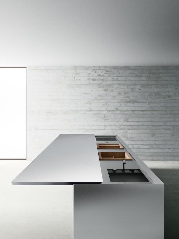 Detalle de cocina de diseño Boffi