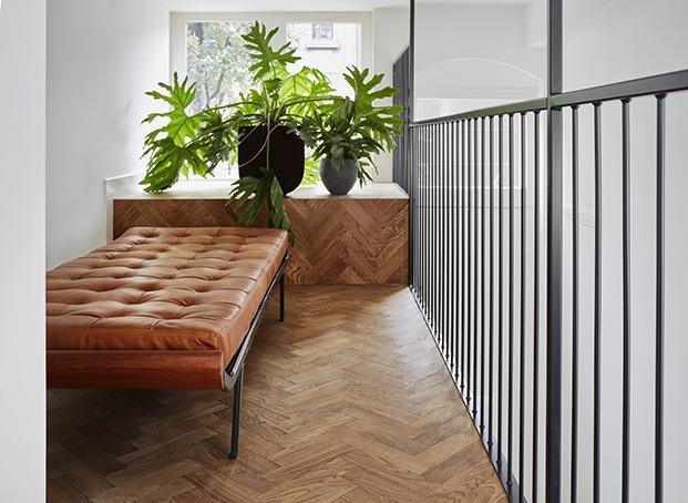 Moodboard con las tonalidades utilizadas para la Decoracion. Apartamento 2. Proyecto Home Sint Willibrordusstraat.