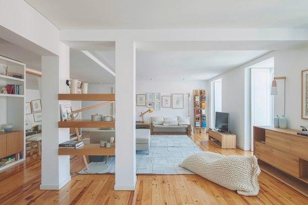 estantería casa de estilo nórdico lisboa diariodesign