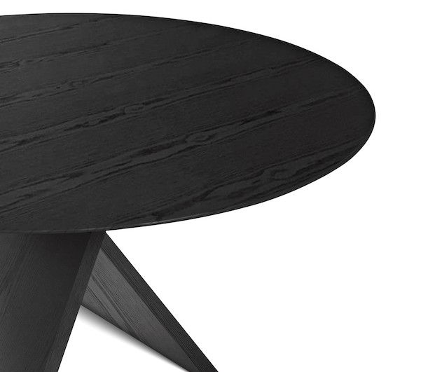 Detalle de acabado mesa De Padova