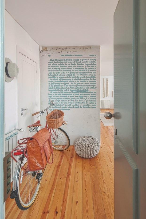 papel de pared piso de estilo nórdico en lisboa diariodesign