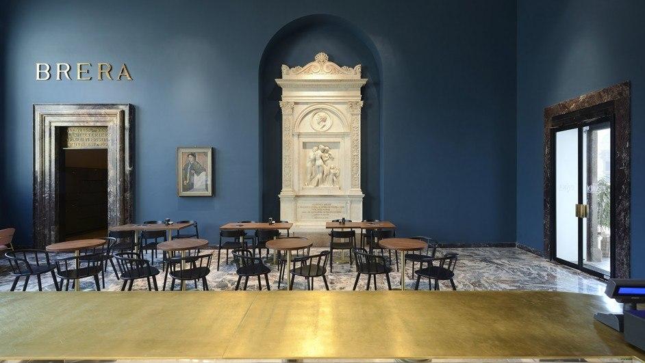restaurantes de museos pinacoteca di brera milán diariodesign