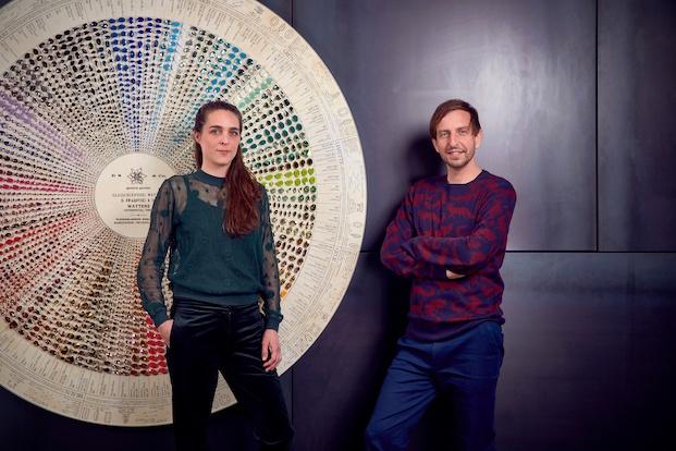 Componentes del estudio de arquitectura Klarenbeek y Dros. Swarovski Awards.