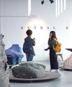 Astral Bodies Milan Design Week 2019 Instalación