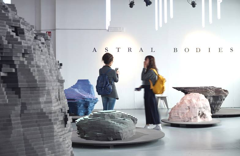 Astral Bodies Milan Design Week 2019 Instalación