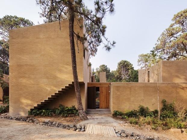 Arquitectura México entre pinos