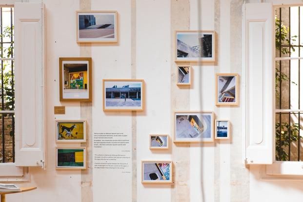 Los Colores de Le Corbusier en la India: el viaje de Enric Miralles y Elías Torres a La Porte Email. Exposición en la Fundacion Enric Miralles
