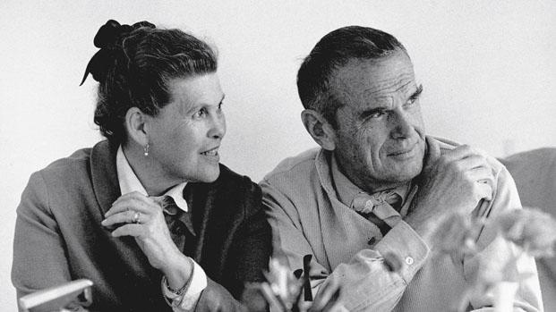 Retrato Ray y Charles Eames