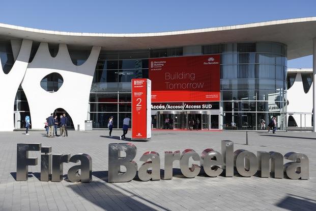 Entrada recinto Fira de Barcelona BBConstrumat