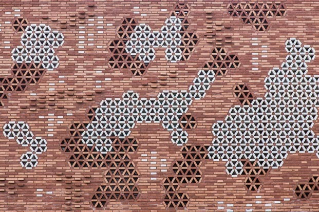 Centro Kálida Sant Pau arquitectura de Benedetta Tagliabue