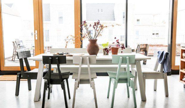 Colección Piet Hein Eek para IKEA Insdustriell sostenible madera de pino