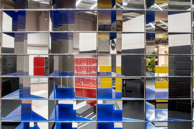 Stand de USM en Milan 2019. Muebles modernos de oficina