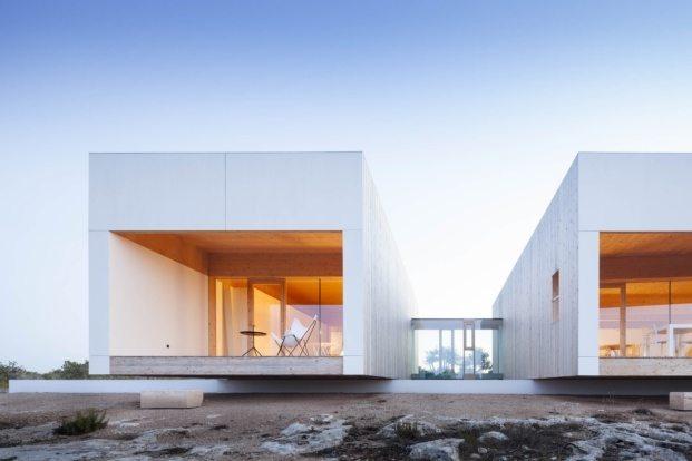 Casa de estilo mediterráneo en Formentera