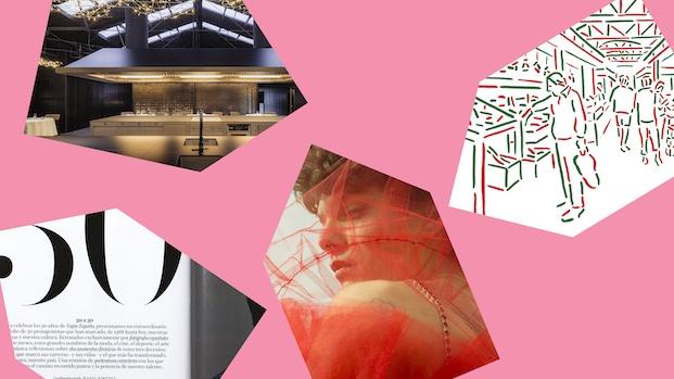 Grafica deseñada para los premios FAD2019 diariodesign
