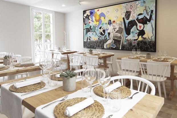 Espacio de arte restaurante Pinzell diariodesign.
