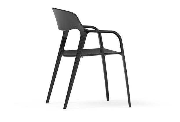 Estructura silla Karbon diseñada por el equipo Item Designworks