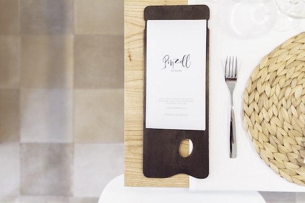 Diseño gráfico restaurante Pinzell diariodesign.