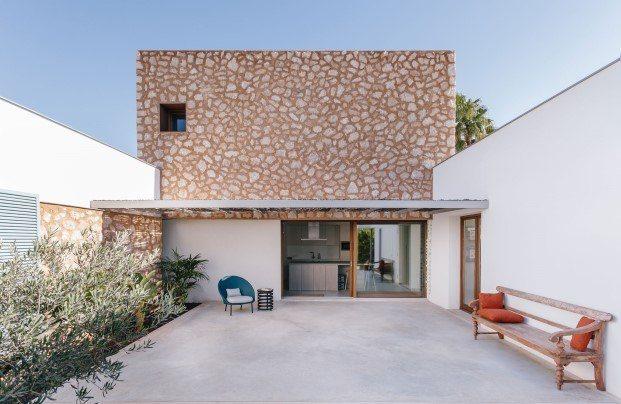 Casa de estilo mediterráneo en Mallorca