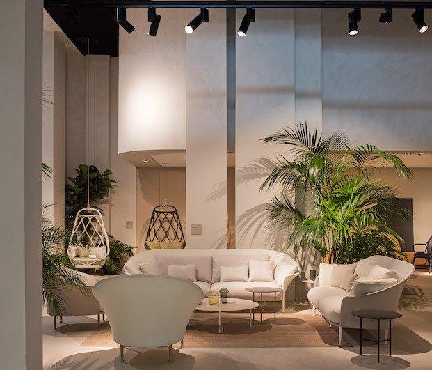 Diseño de stand novedades Expormim en la feria de Milán de 2019