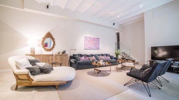 Salón de estilo romántico