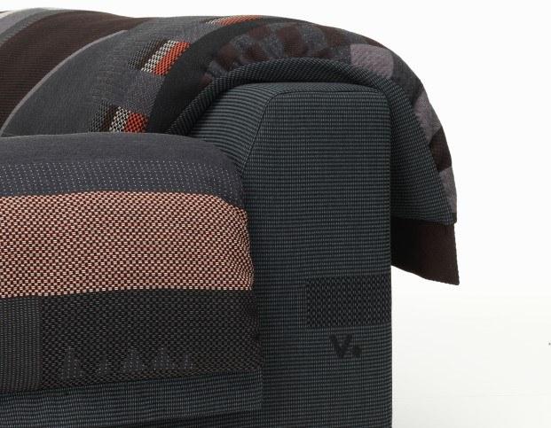 vlinder sofa de vitra por hella jongerius mezcla de artesania y tecnologia diariodesign