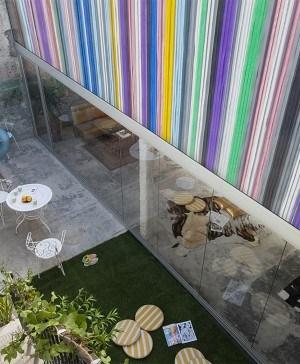 Fachada Transcolor LGTBI Barcelona Reforma