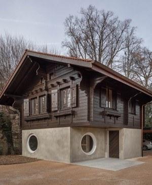 casa en suiza proyectada por bureau diariodesign