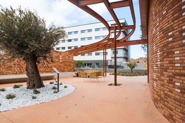 Centro Kálida Hospital Sant Pau de Barcelona. Proyecto de Benedetta Tagliabue