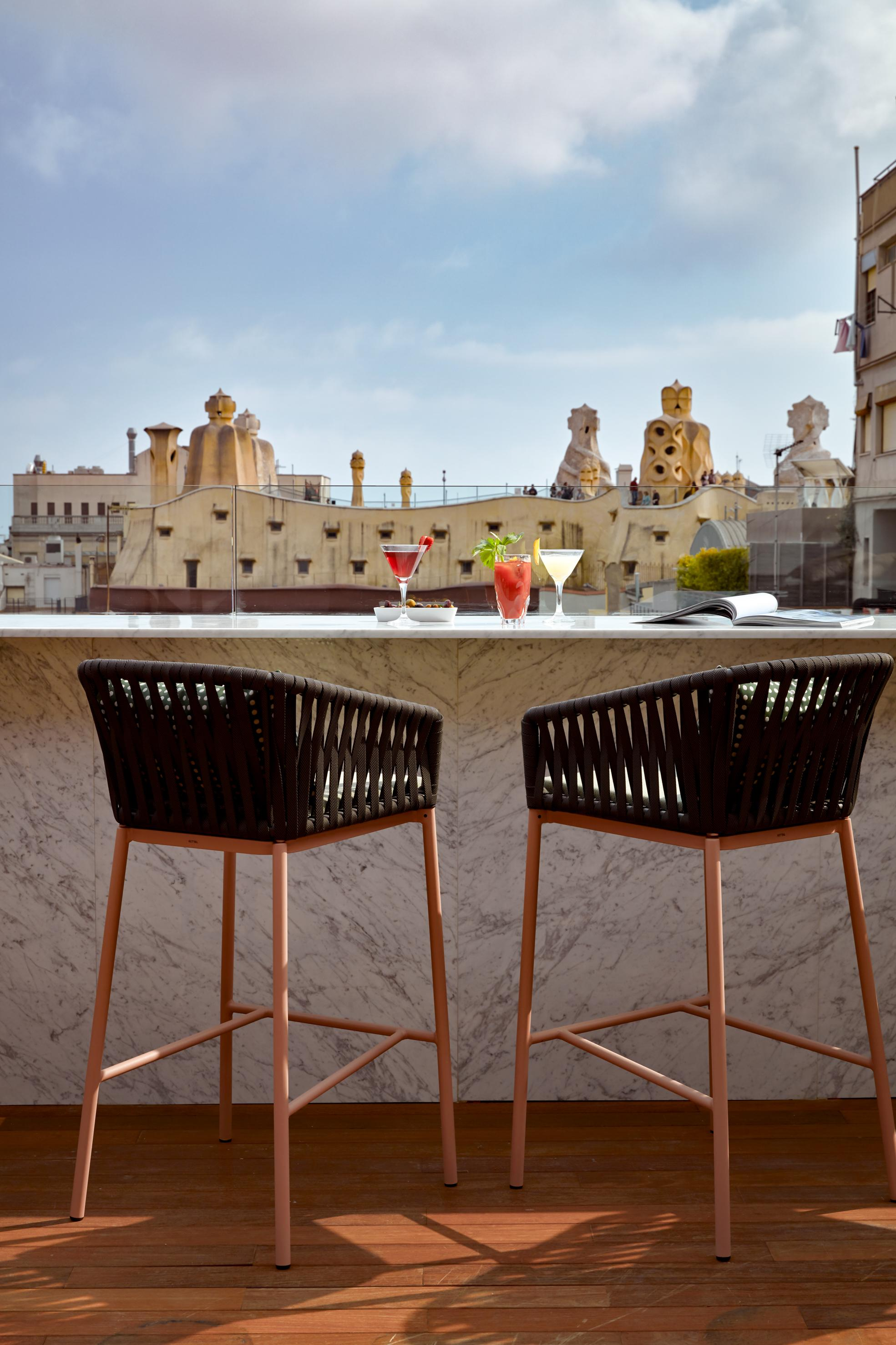 hotel sir victor barcelona terraza diariodesign