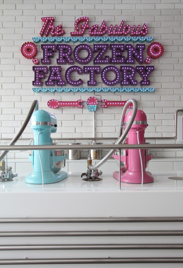 Heladería The Fabulous Frozen Factory en México