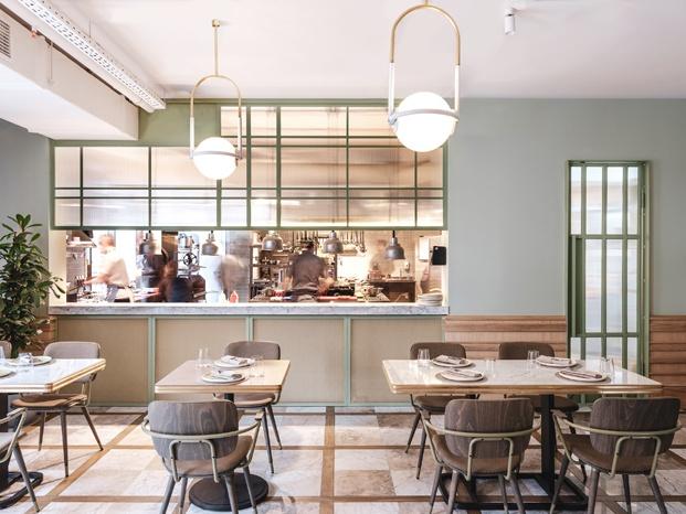 cocina abierta espacio the y para millennials en moscú diariodesign