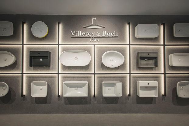 Villeroy Bosch interiorismo showroom Barcelona Ulises Chamorro