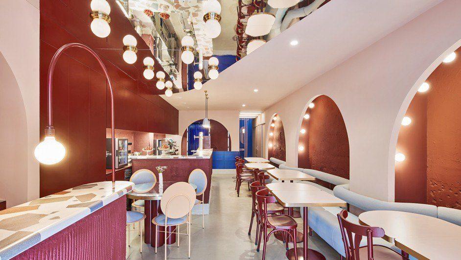Restaurante El Camerino en Russafa, Valencia. Art Déco