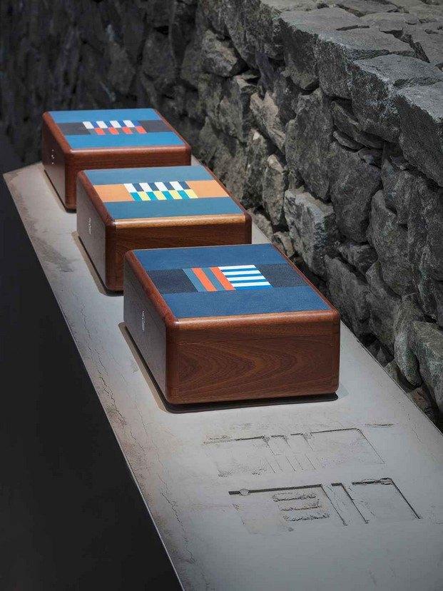 cajas de madera de caoba de joséphine ciaudo para hermès maison diariodesign