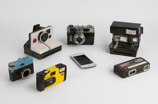 cámara de fotos de cerámica giorgio di palma diariodesign