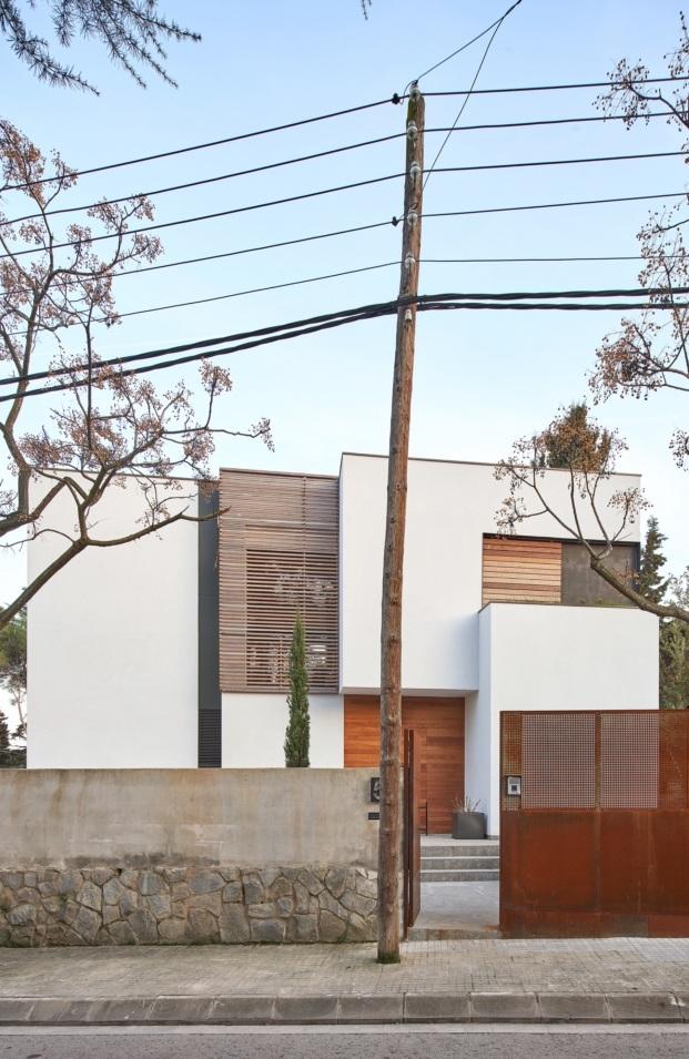 vivienda unifamiliar en sant cugat del valles f2m arquitectura diariodesign calle