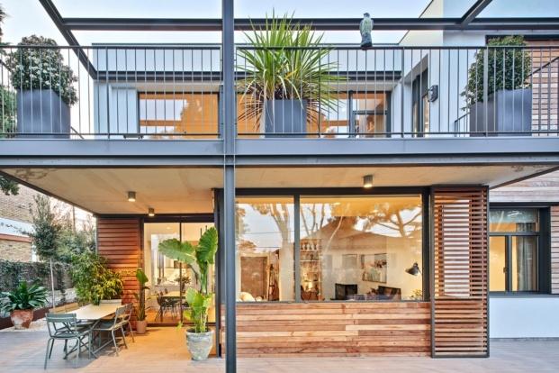 casa en sant cugat del valles f2m arquitectura diariodesign terraza