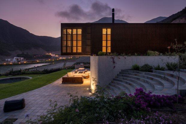anfiteatro casa topo en perú diariodesign