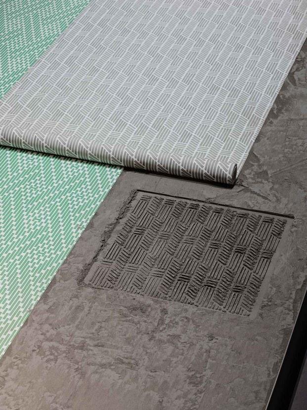 detalle alfombras hermès maison en milán diariodesign