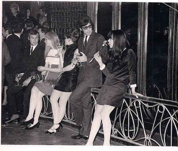 Bares de clase media en los años 60. Como Taperia