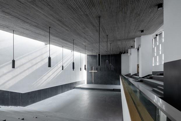 interior iglesia new bund shanghai premio fad 2019 internacional diariodesign