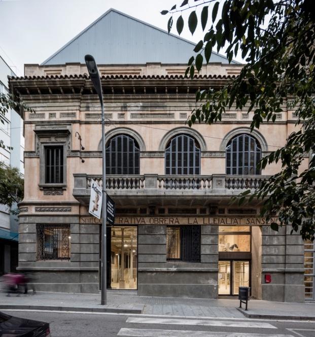lleialtat santsenca h arquitectes adria goula diariodesign fachada