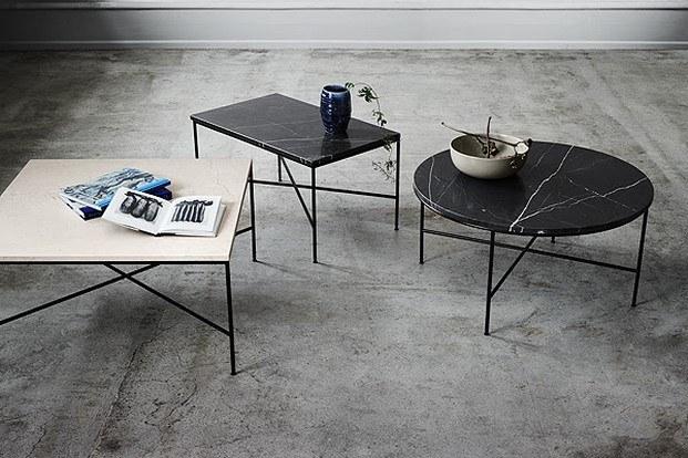 mesas colección planner de fritz hansen diseñadas por Paul McCobb diariodesign