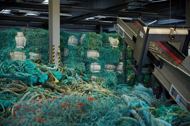 planta de reciclaje de redes de pesca en dinamarca diariodesign