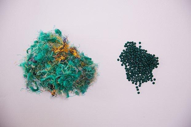 material plástico redes de pesca diariodesign